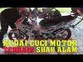 🎦Review Kedai Basuh Motor Terbaik Shah Alam | OK GO SNOWBIKEWASH.