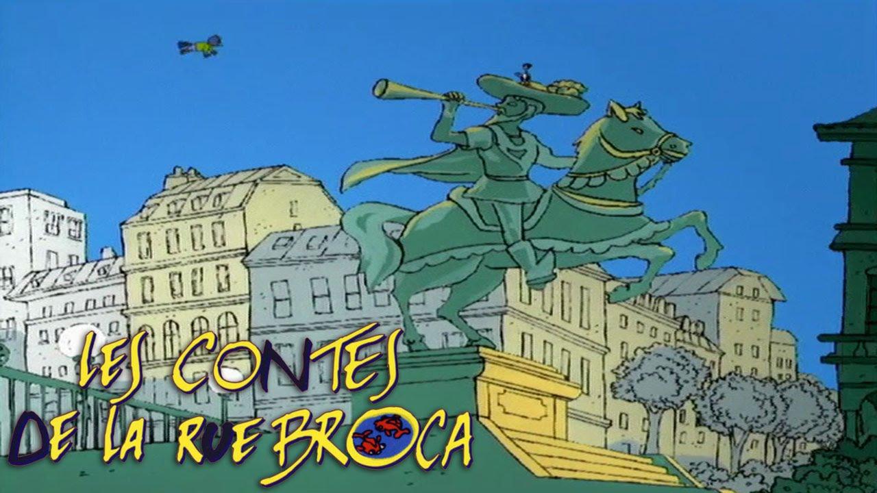 Les contes de la rue broca pouic et la merlette hd youtube - Contes rue broca ...
