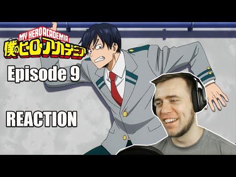 Rich Reaction - My Hero Academia Episode 9 - Tenya Iida Class Representative