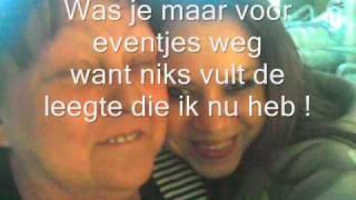 Ik mis je mama