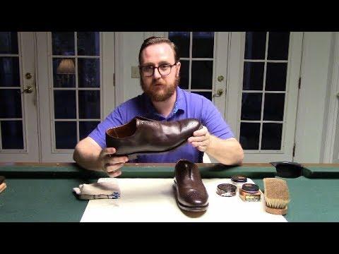 Allen Edmunds Mackenzie First Shoe Shine