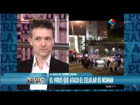 El virus que infectó al celular de Nisman