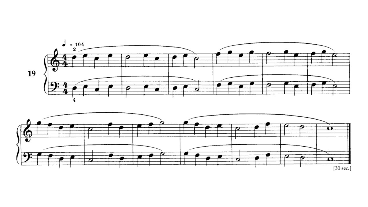 Bartok Mikrokosmos vol 1