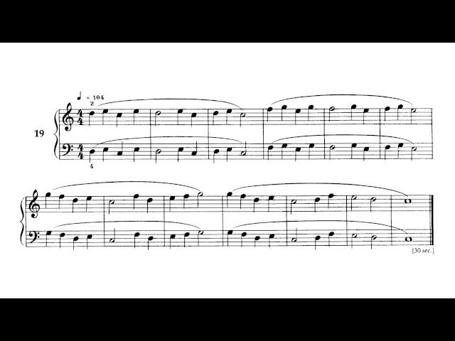 Béla Bartók - Mikrokosmos - Volume 1 (Audio + Piano Score)