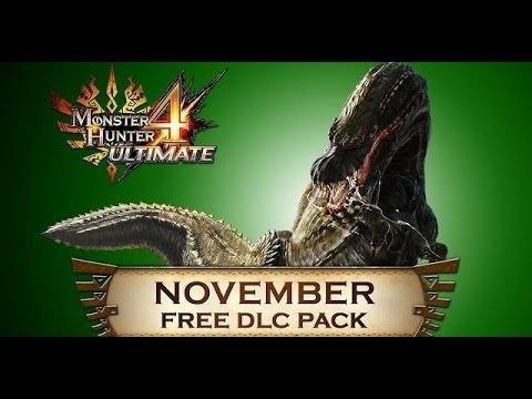 Monster Hunter 4 Ultimate - Event Quests 30: Bedeviled Deviljho (November DLC Part 1)