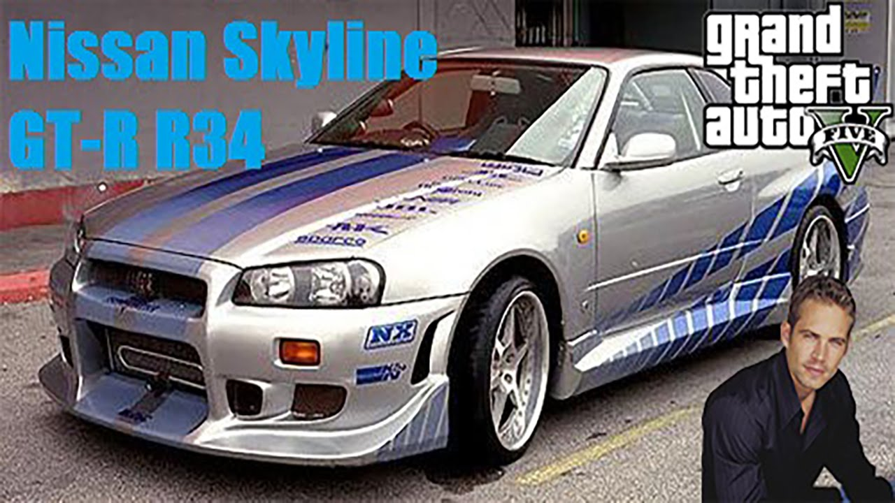 Fast And Furious Skyline Paul Walker | www.pixshark.com ...