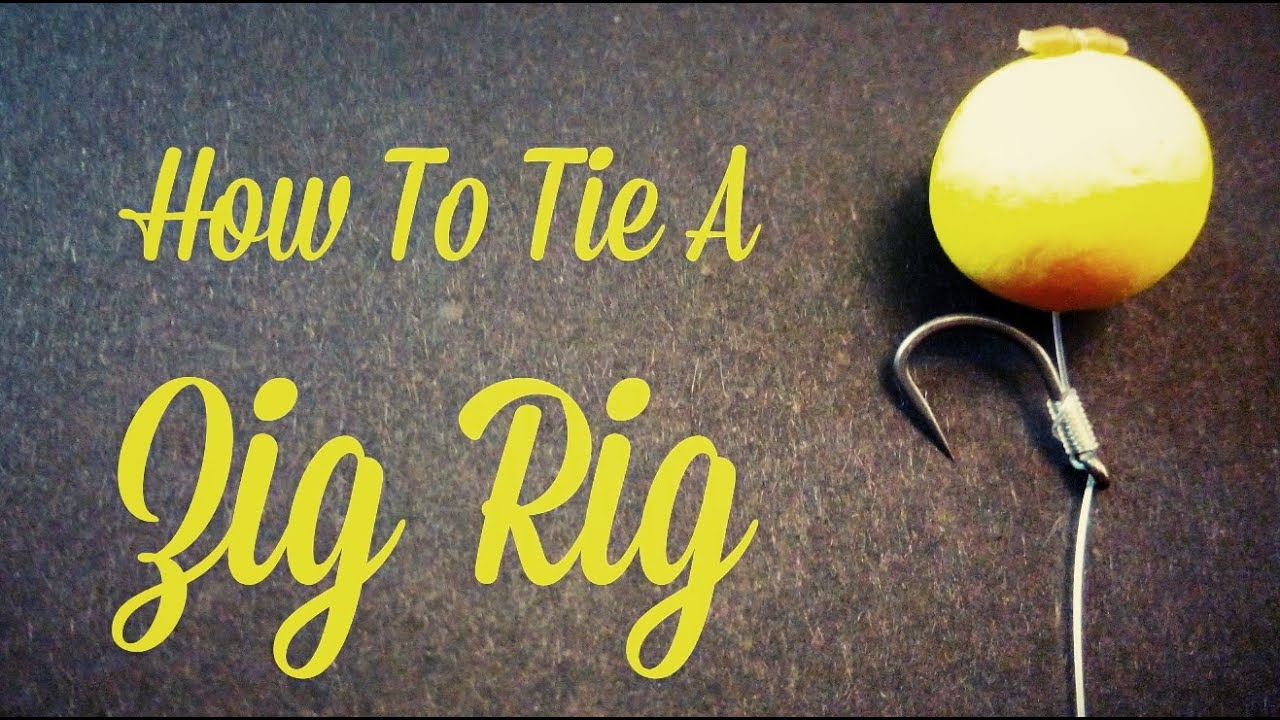 How to tie a zig rig carp fishing youtube pooptronica Images