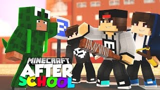 Minecraft After School - THE BULLY RUINS LITTLELIZARD'S FIRST DATE WITH SARAH!