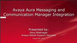 How to Integrate Avaya Aura Messaging with Communication Manager