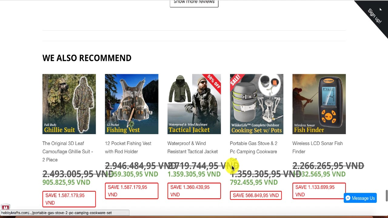 SPY sản phẩm gía cao 60$ có 71k click trong Shopify