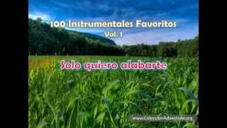 100 Instrumentales Favoritos vol. 1 - 009 Solo quiero alabarte