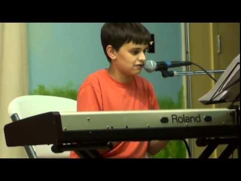 Aaron K. Let Her Go - 2014 Elysian Charter School Rock Band
