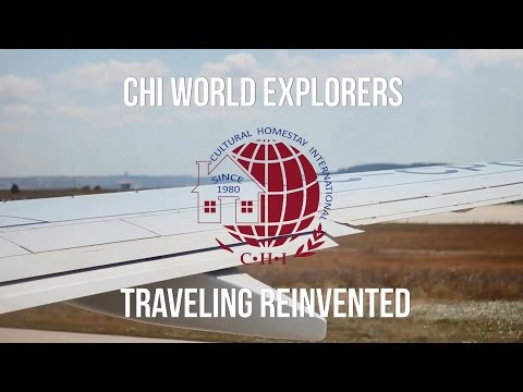 CHI World Explorers, Travel Reinvented