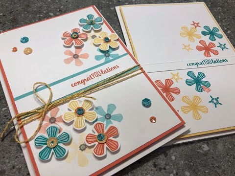 Live Crafting Using Stampin Up! 2020 Mini Catalogue Products Stamping With DonnaG!