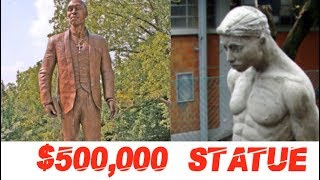 TUPAC SHAKUR $500,000 STATUE WILL REPLACE THE OLD ONE, EXPLORATION OF OLD STATUE