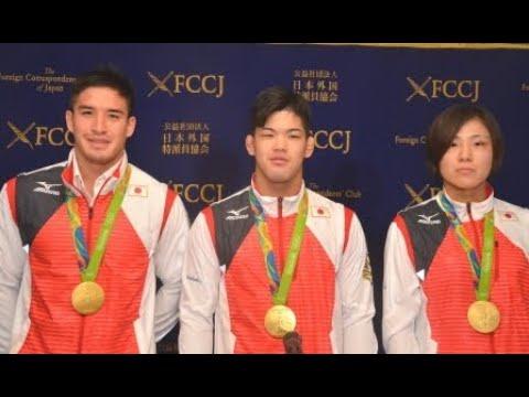 Mashu Baker, Shohei Ono & Haruka Tachimoto: Judo Gold Medalists, Rio Olympics