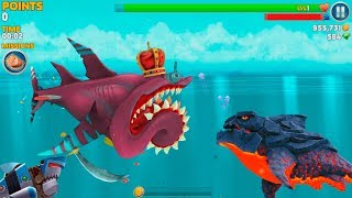 Hungry Shark Evolution Pyro Shark Android Gameplay #51