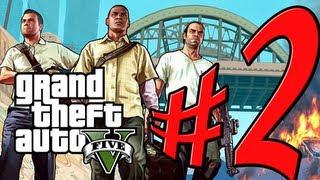 Grand Theft Auto V - Parte 2: Franklin Conhece Michael! [ Playthrough GTA 5 em PT-BR ]