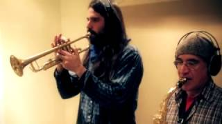 "Ras Simon & LA THUNDER   ""Destino a Zion"" STUDIO SESSION.COLUMBUS RIDDIM"