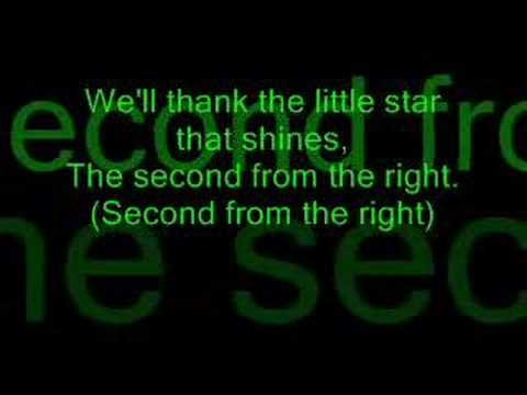 Jesse McCartney - The Second Star To The Right  With Lyrics