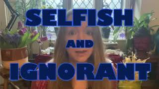 "Rachel Elnaugh ex Dragons Den video ""Selfish and Ignorant"""