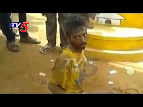 Psycho Nuisance In Prakasam Dist   Horrible Attacks On People   TV5 News