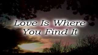 Watch Everly Brothers Love Is Where You Find It video