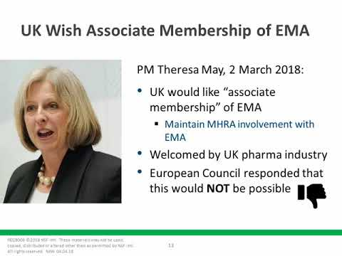 The Changing Face of Europe and the Implications of Brexit to the Pharma Industry
