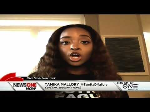 Activist Tamika Mallory Speaks Out About American Airlines Incident