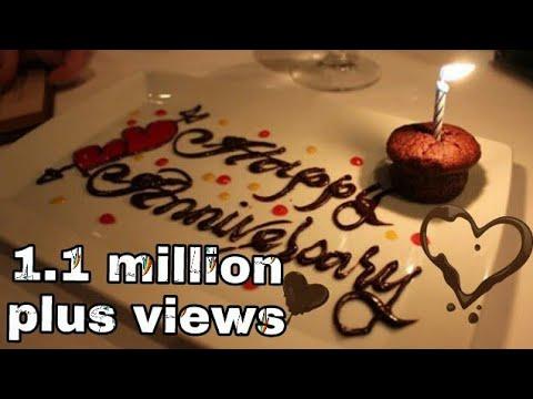 Happy marriage anniversary wedding cake whatsapp status video