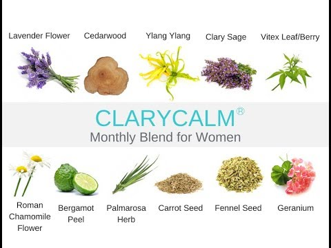 ClaryCalm Monthly Blend Online Class with Jade Balden