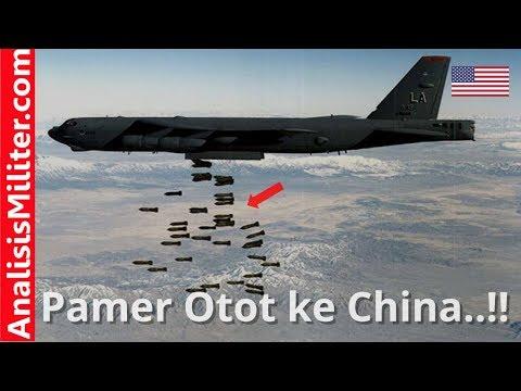 Pamer Otot, Pesawat Bomber Amerika Ini Dekati Pangkalan Militer China