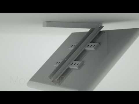 Plb m0522 remote control motorized flip down tv ceiling for Vivo motorized tv mount