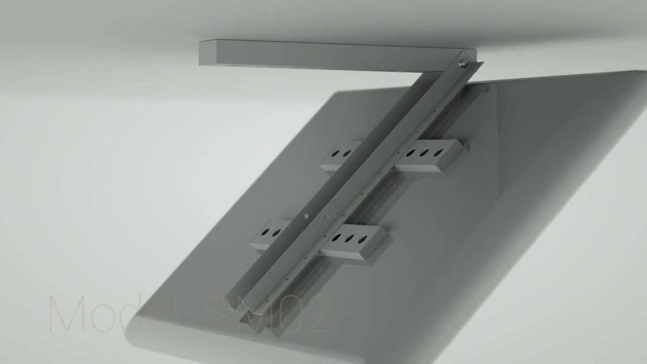 sigden bedroom tv ceiling mounts (pl) - youtube