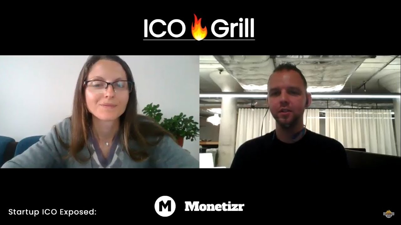 ICO Grill Review - Monetizr.io - Blockchain Gamer Reward System - Initial Coin Offering