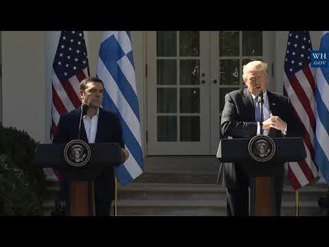 MAGNIFICENT: President Donald Trump Joint Press Conference with Prime Minister Alexis Tsipras FULL