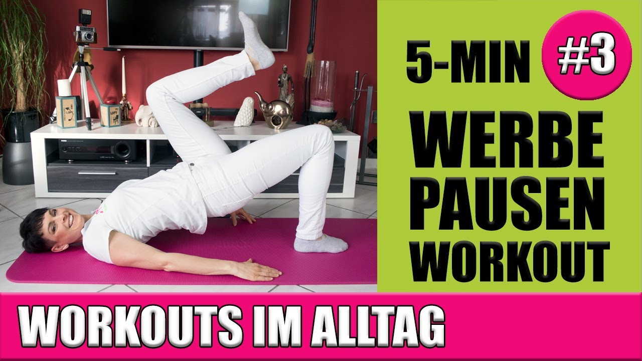 Workouts im Alltag #3 | Rectusdiastase Übungen | Beckenbodengymnastik | Maike Droste