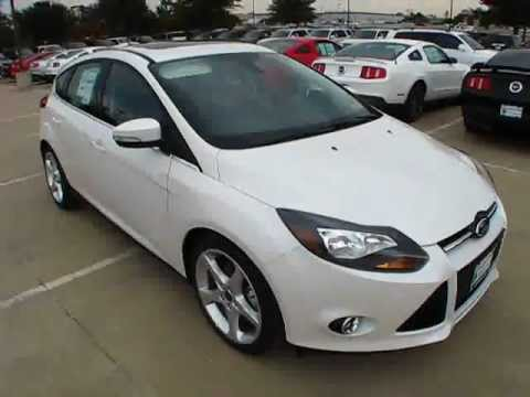 2012 ford focus titanium hatchback start up, exterior/ interior