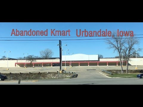 Abandoned Kmart Being Redeveloped - Urbandale, IA