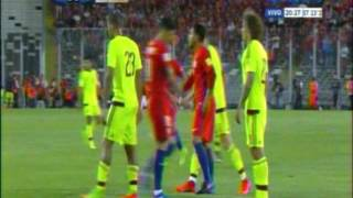 Chile 3 Venezuela 1 (Tyc Sports)  Eliminatorias Rusia 2018