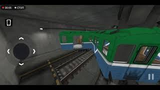 Пожарные и работники депо в игре Subway Simulator 3D. Внимание! Жуткие лаги! screenshot 3
