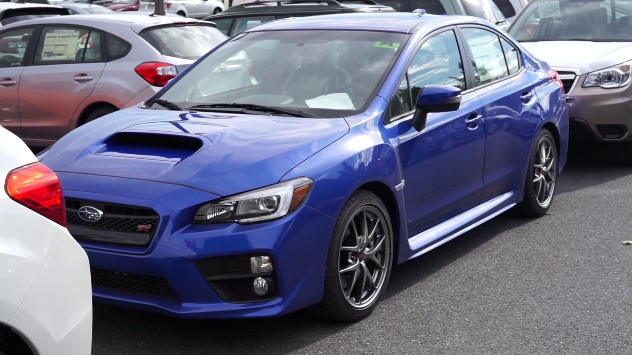 2017 Wrx Limited >> 2017 Subaru WRX STI Limited Walkaround - YouTube