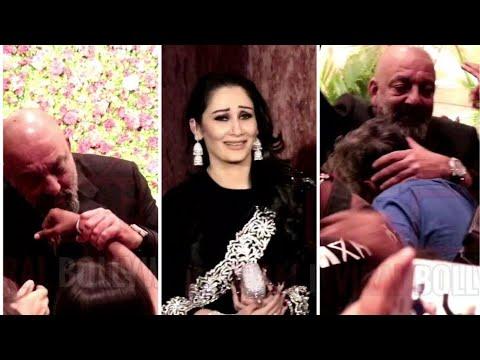 SANJU BABA Sweetest Gesture For Media Will Make You CRAZY | Ranveer - Deepika Reception Party