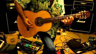 Giannini Estudo Classical Acoustic playing.mpg