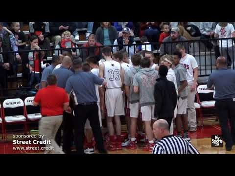 Adair County vs Taylor County [GAME] - HS Basketball 2016-17