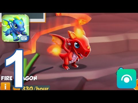 Dragon Mania Legends - Gameplay Walkthrough Part 1 - Level 1-6 (iOS, Android)