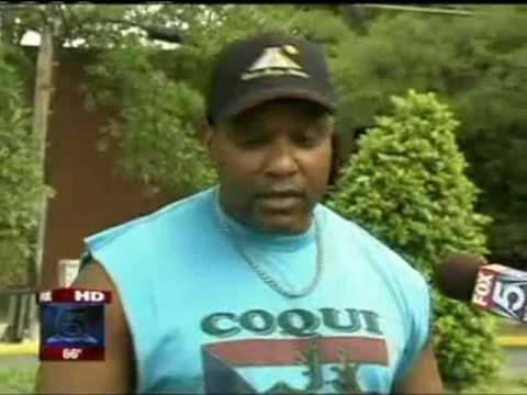 News clip - Pitbulls attack Ralph Johnson and Fiesty