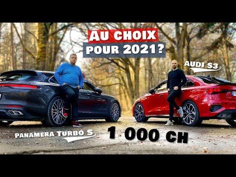 PORSCHE Panamera Turbo S ou AUDI S3 : Pour bien débuter l'année 2021 ?