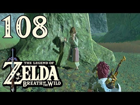 [108] Zelda: Breath Of The Wild - YOU'RE NOT MY TYPE EITHER, ALIZA - Let's Play (Wii U)