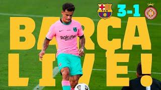 ⚽ BARÇA LIVE | Barça -Girona FC| WARM UP & PRE MATCH